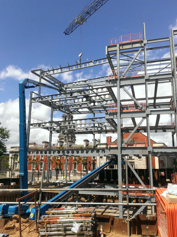 steel erectors nottingham G17